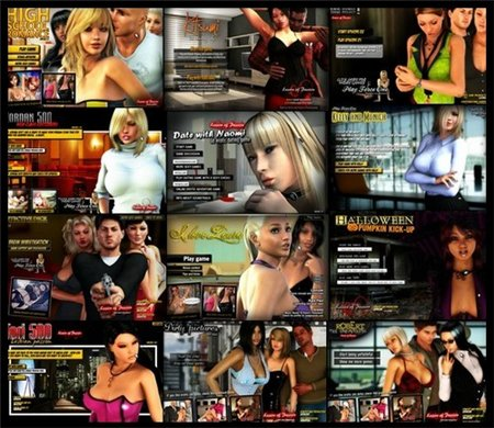 Collection Games - Sexual Fantasy Kingdom (2008-2011) .