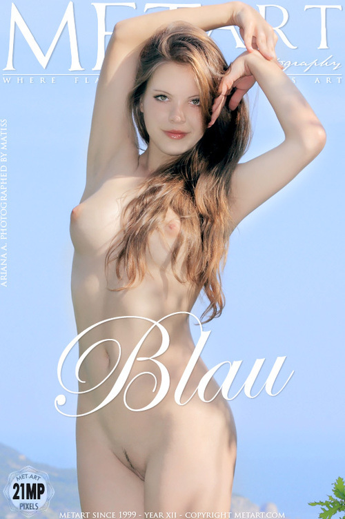 MET ART - ARIANA A - BLAU