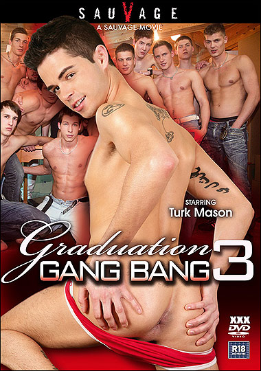 [Gay] Graduation Gang Bang 3