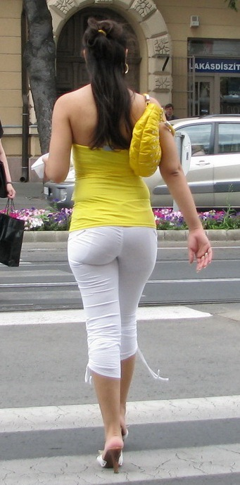 Voyeur girls candid street public