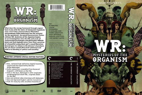 W.R. - Misterije organizma / WR: Mysteries of the Organism (1971)