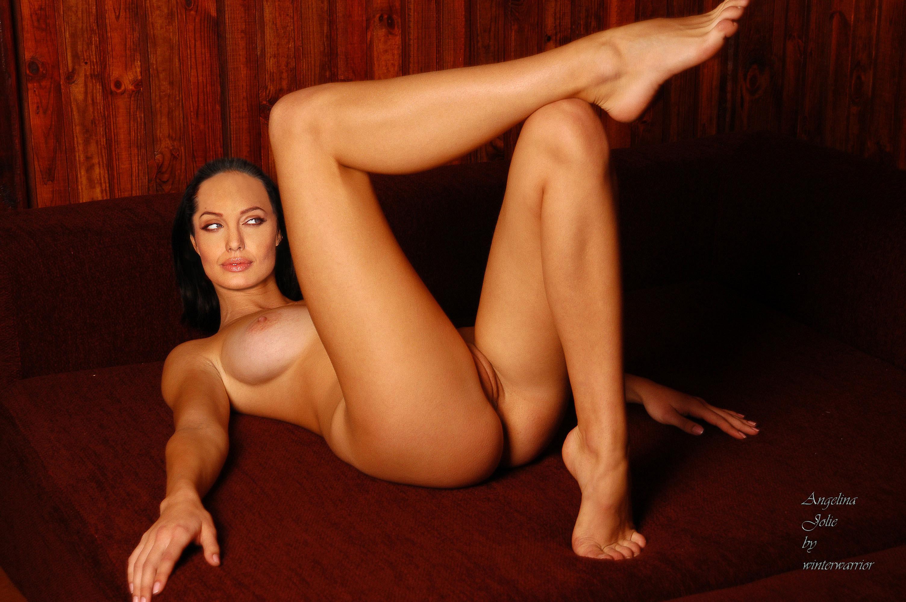 Фото голая анжелина джоли ее пися 5 фотография