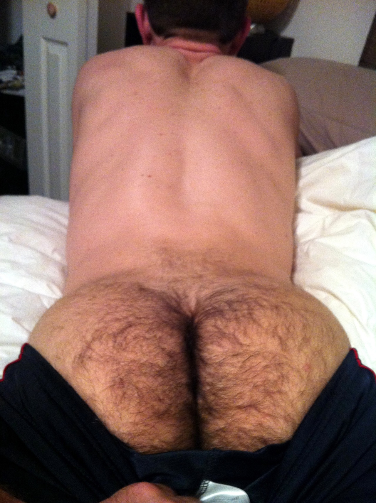 Free male hairy ass and dick green shower