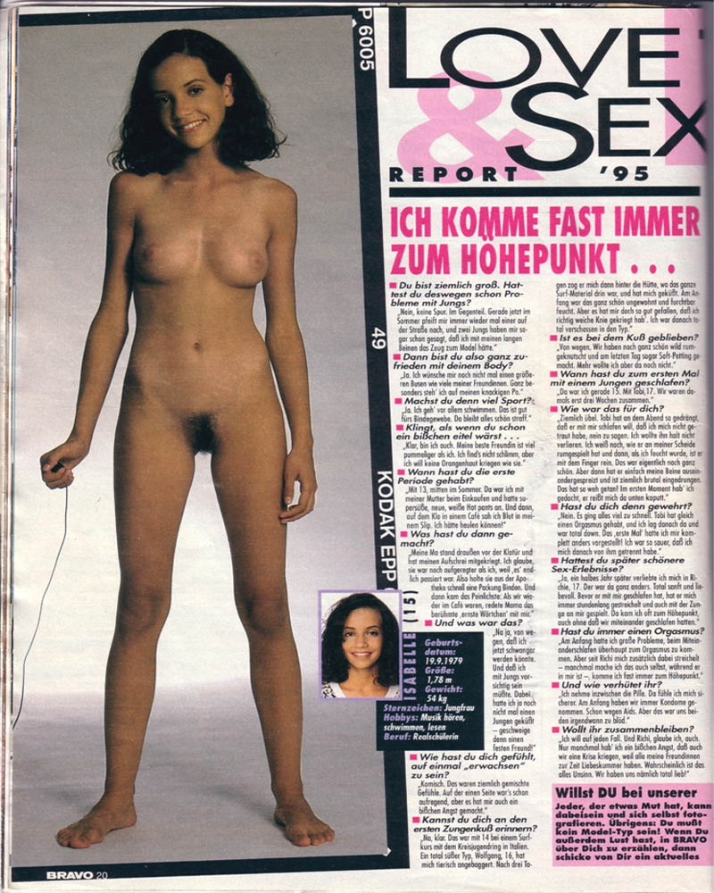 bravo love & sex report 1995 nackt