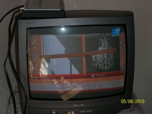 armé la tv digital que me mando anses y te lo muestro