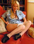 Hot young teen models in panties