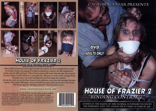 House Of Frazier #2 - Binding Contract BDSM