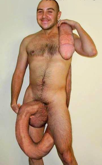 Show my cock off