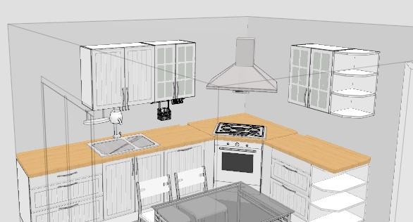 Forum cucina da progettare ci siamo quasi p 7 - Progettare una cucina ikea ...