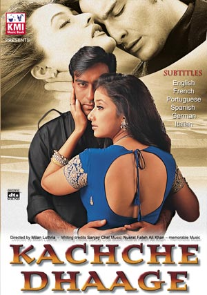 Zranione Serca / Kachche Daage (1999) DVDRip Lektor PL