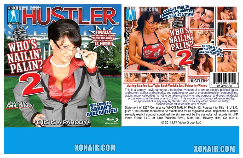 Who's Nailin' Palin Vol. 2 / Кто Пялит Палин 2 (Axel Braun, Hustler ) [2011 г., Spoofs & Parodies,720p , BDRip] Release Date: 4/5/2011