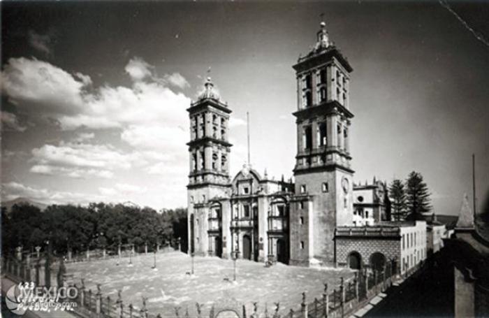 Imagenes de Puebla de los Angeles, México. Puebcatedral