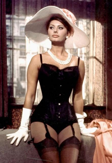 El mito viviente, Sofia Loren