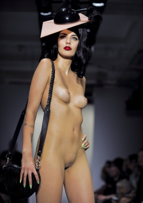 The naked runway: The most outrageous non-clothing fashion