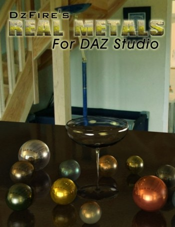 Real Metals for DAZ Studio