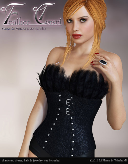 Feather Corset