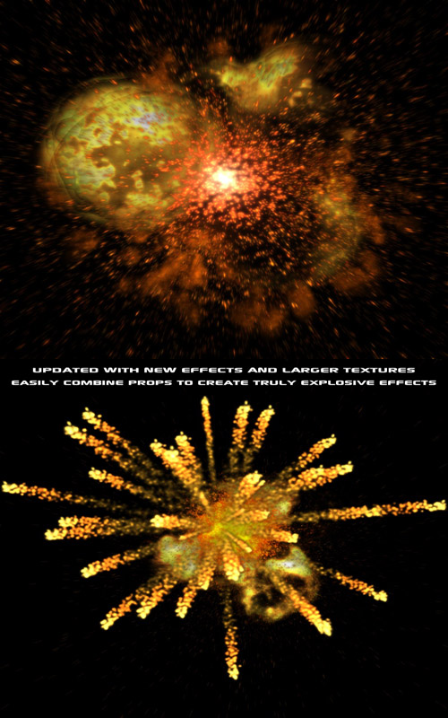 Pyrotechnica for Poser & DS