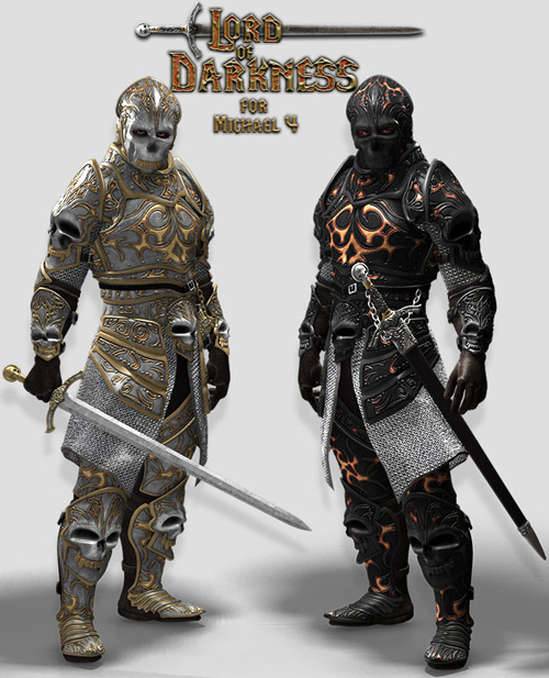 Lord of Darkness Armor for M4
