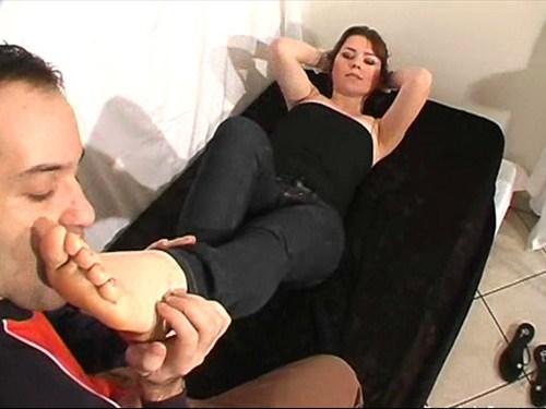 Alina Footworship Female Domination