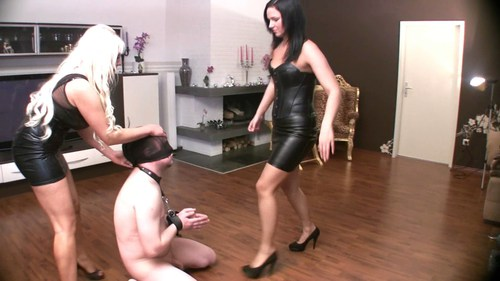 Angry Face Slapping Female Domination