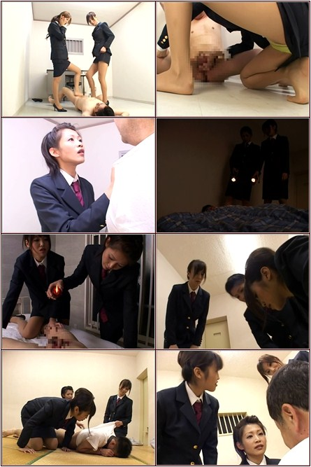 Female guards punishment Asian Femdom