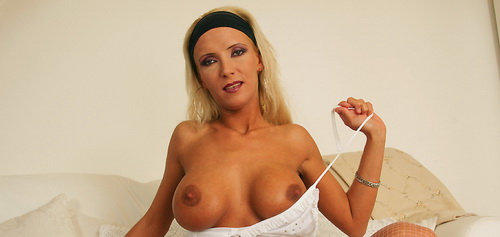 sexy stockings blonde  Fisting