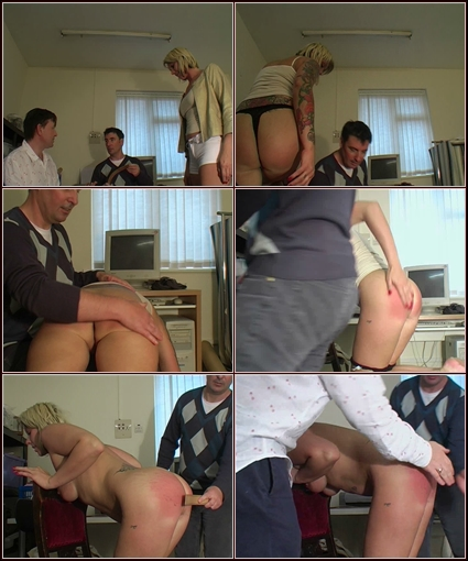 Belinda's Punishment  Spanking