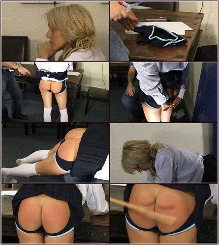 Naughty Knickers  Spanking