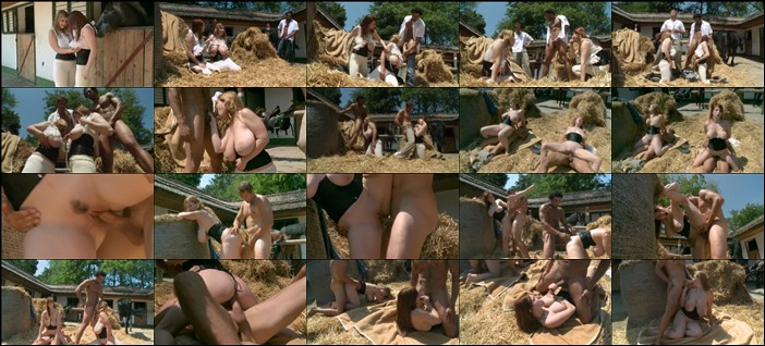 Terry Nova and Christy Marks In the Stables, Busty Riding Academy