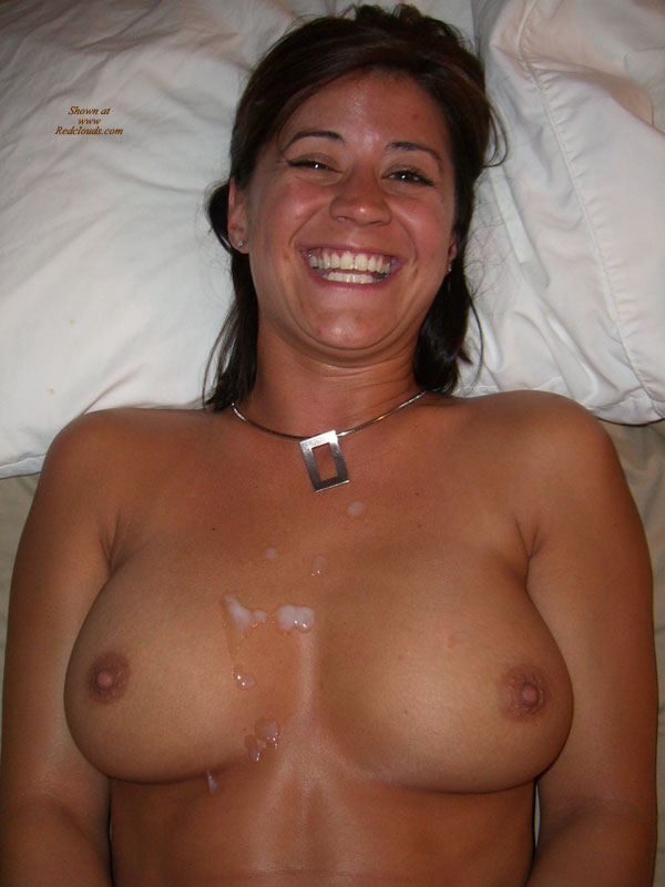 her amateur on tits Cum