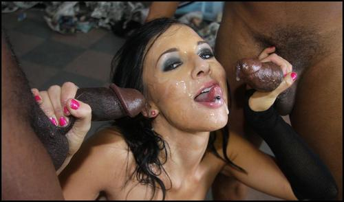 Cocksucking deepthroat black cock