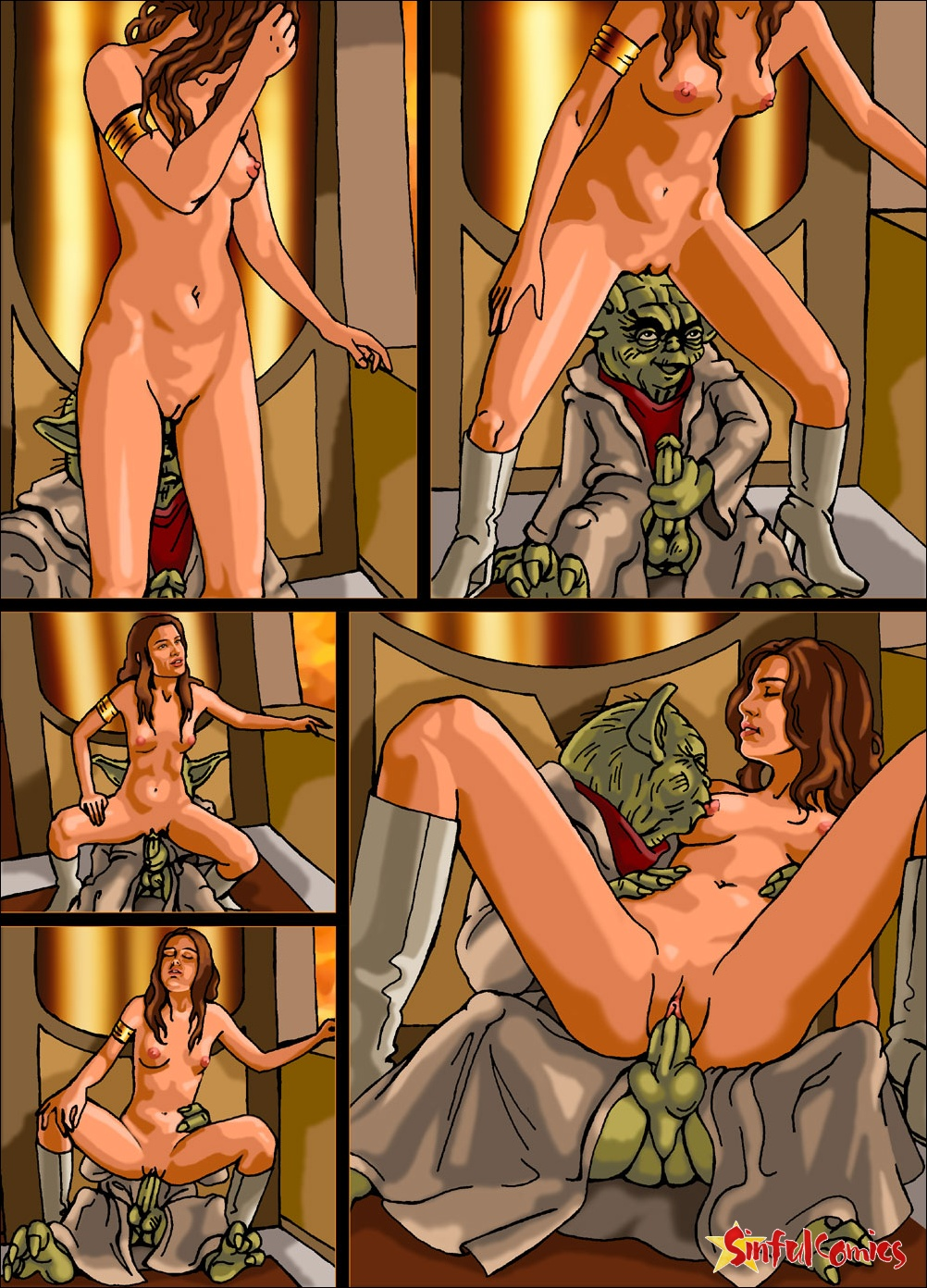 Free nude women of star wars fucks movie