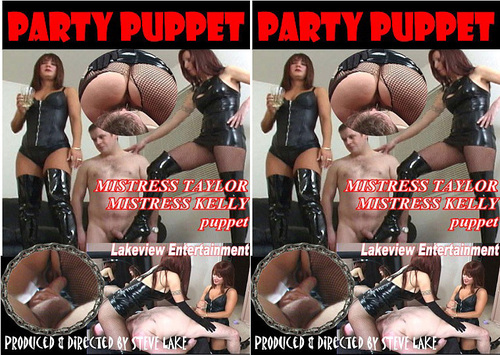 Party Puppet  Female Domination