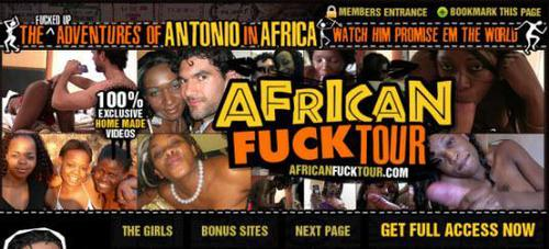 African Fuck Tour SiteRip Cover
