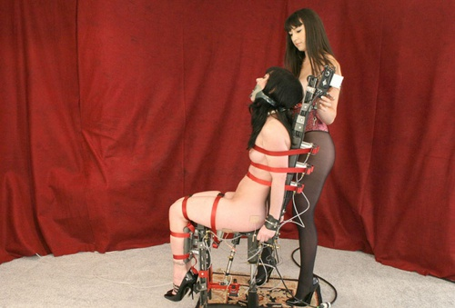 The Air Chair Fucking Machine Fucks Anastasia House