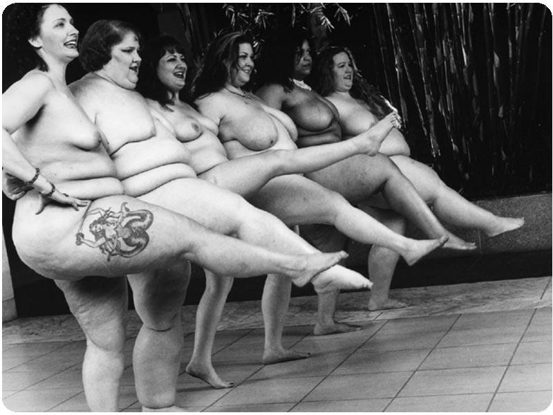 фото голых красивых толстушек