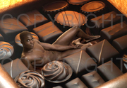 Spicy charity hodges black bikini