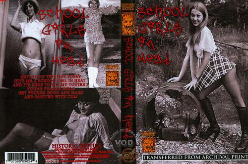 School Girls In Heat (1970)  Cover
