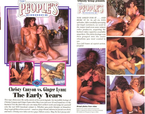The peoples choice christy canyon vs ginger lynn 1983 1