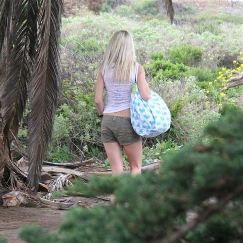Jeanie Marie Sullivan - Naked on the Beach