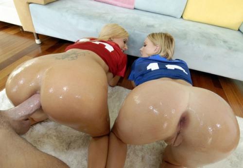 Krissy Lynn, Mariah Madysinn - Assfucked Sluts POV