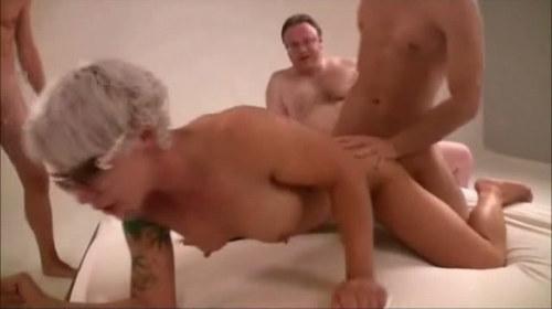 Hoot blonde threesome