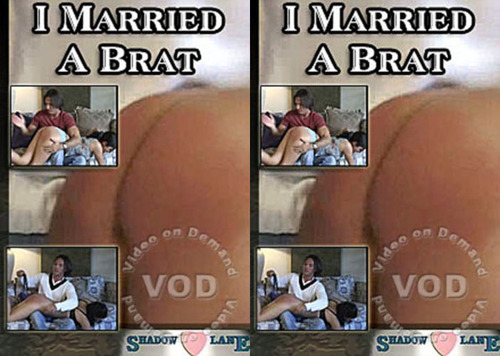 I Married A Brat FilePost Spanking