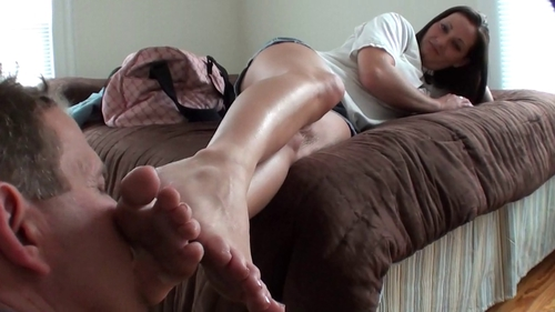 image Boss039s step daughter foot job mother