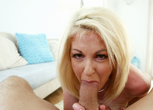 Pink Panties Blonde Milf Showing Her Unmatched Blowjob Skills In Pov Vipergirls 1