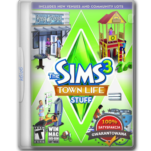The Sims 3 Town Life Stuff / Miejskie Życie (2011) [Reloaded][PL]