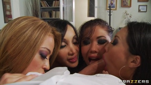 Big Tits At Work – London Keyes, Asa Akira, Mia Lelani & Katsuni