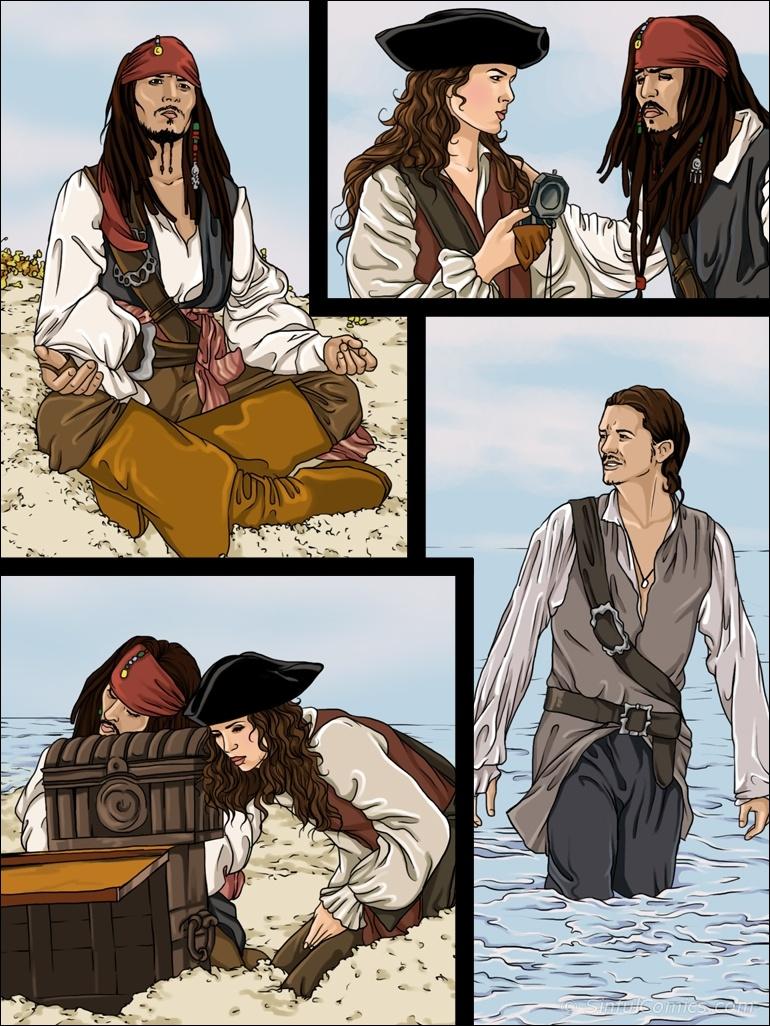 piratas del caribe (comic xxx)