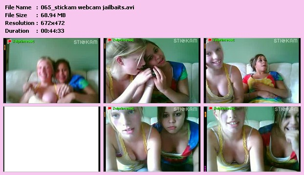 Slideshow For Stickam Webcam Jailbaits Avi Size All.