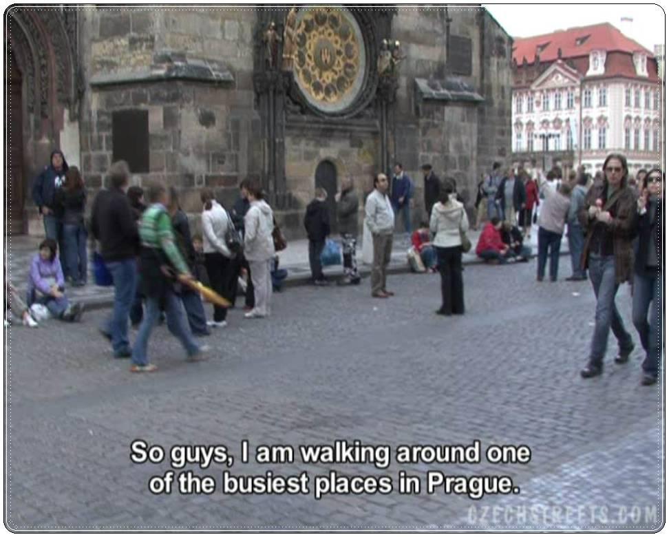 Calles checas pavla y vendula